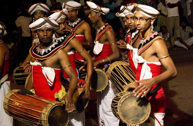 Fiestas en Sri Lanka