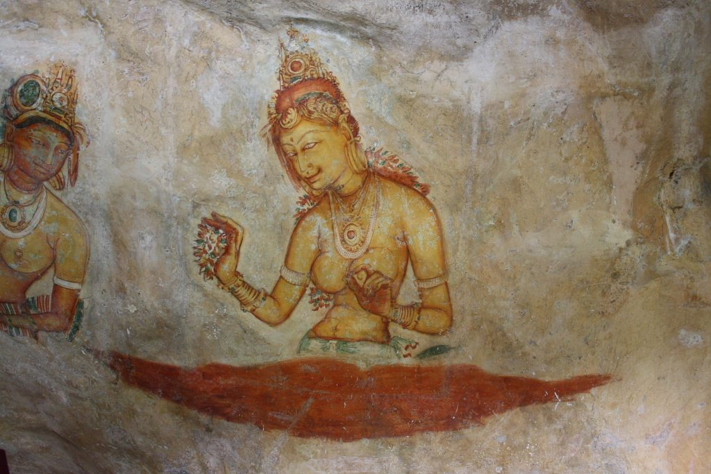 Frescos en Sri Lanka