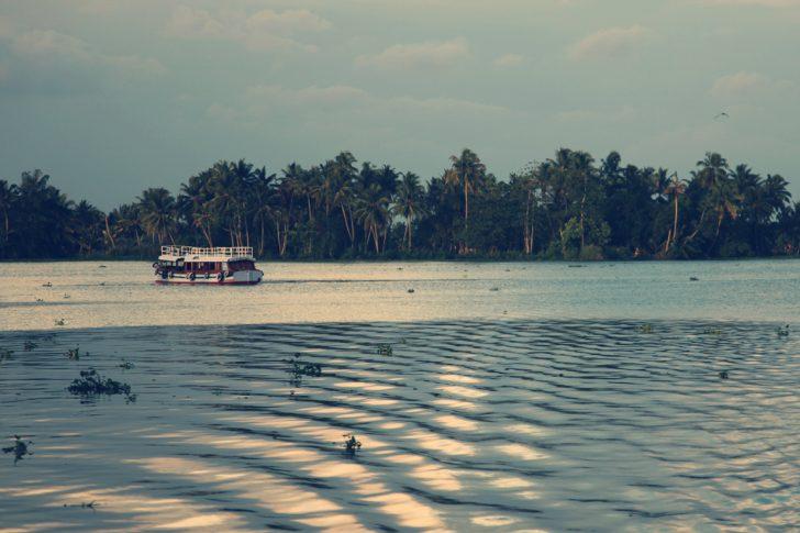 Mejores lagos de la India - Kumarakom Lake -