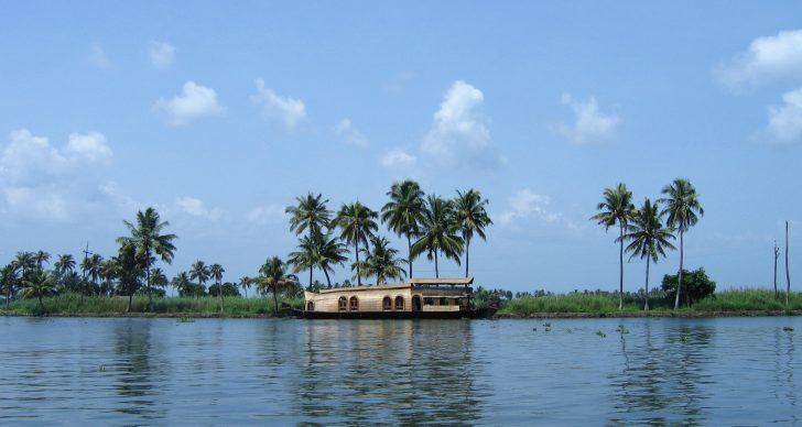 Mejores lagos de la India - Vembanad Lake