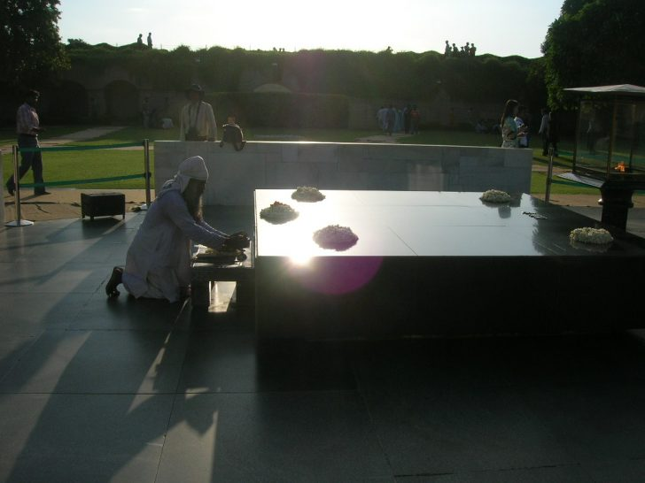 Mausoleo de Gandhi