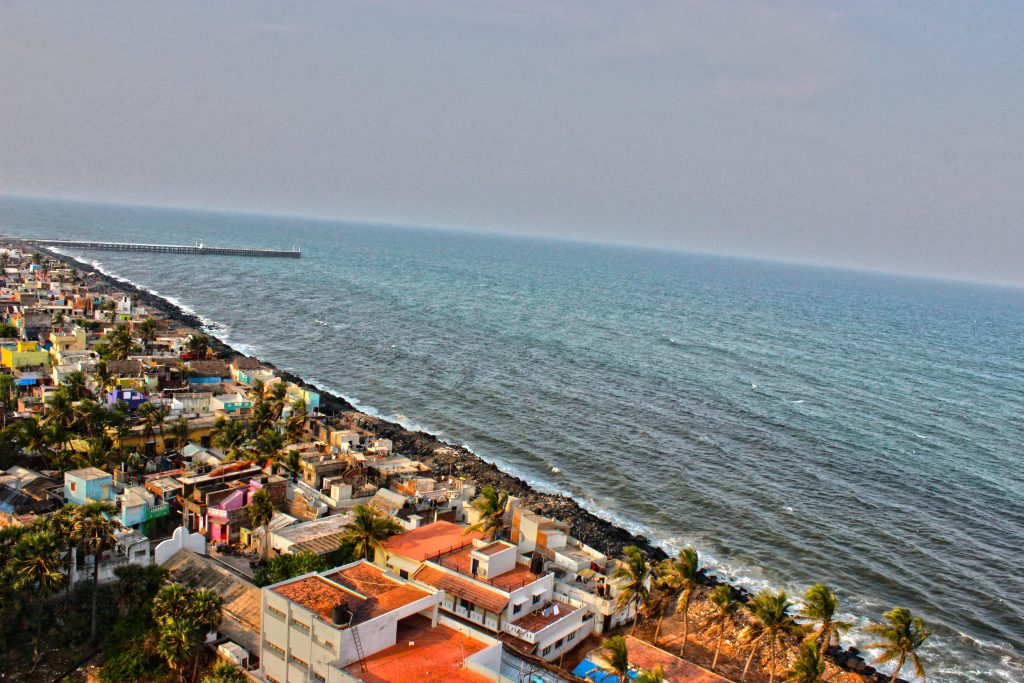 Viajar en pareja a India - Pondicherry -