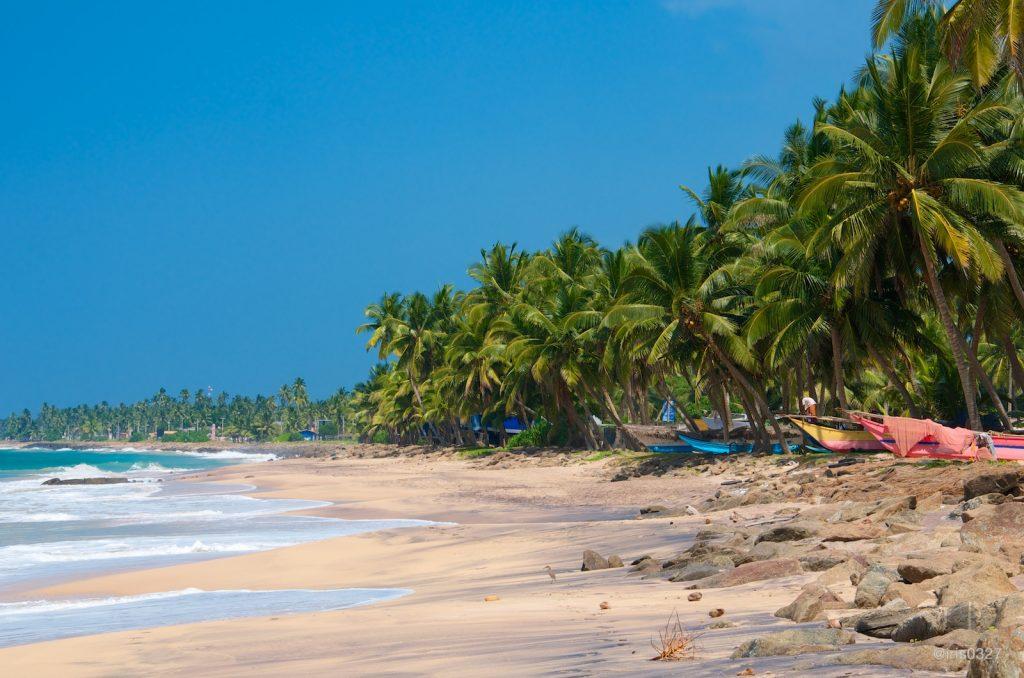 10 curiosidades de Sri Lanka - Hikaduwa Beach