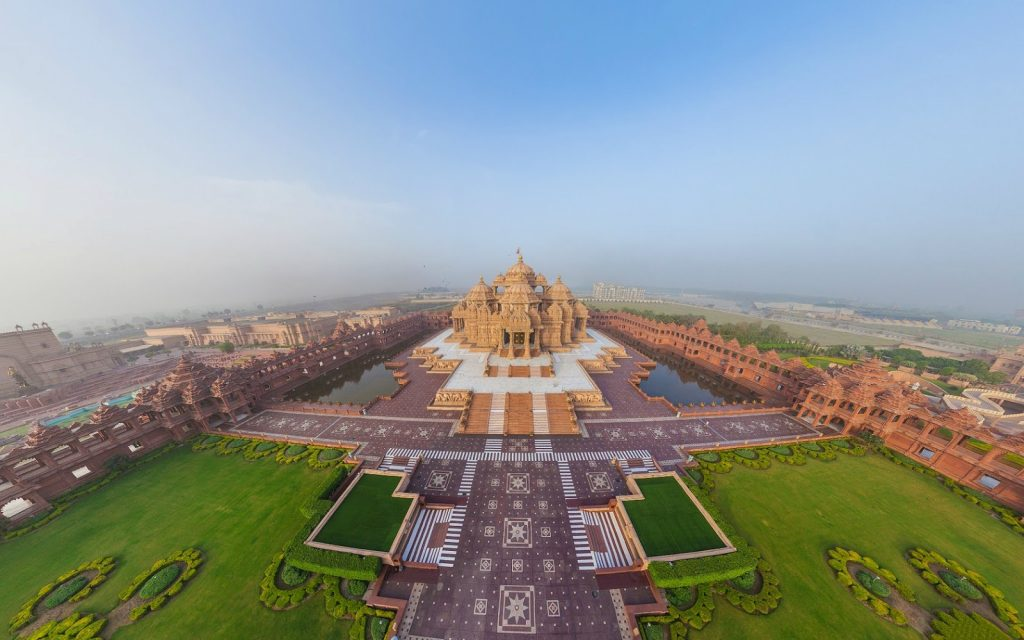 Akshardham Temple - templos de india