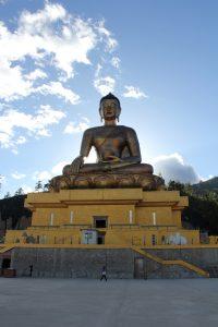 monumentos de timbu - Estatua de Buda