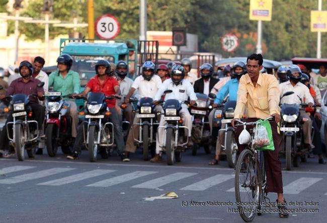 El transporte en India