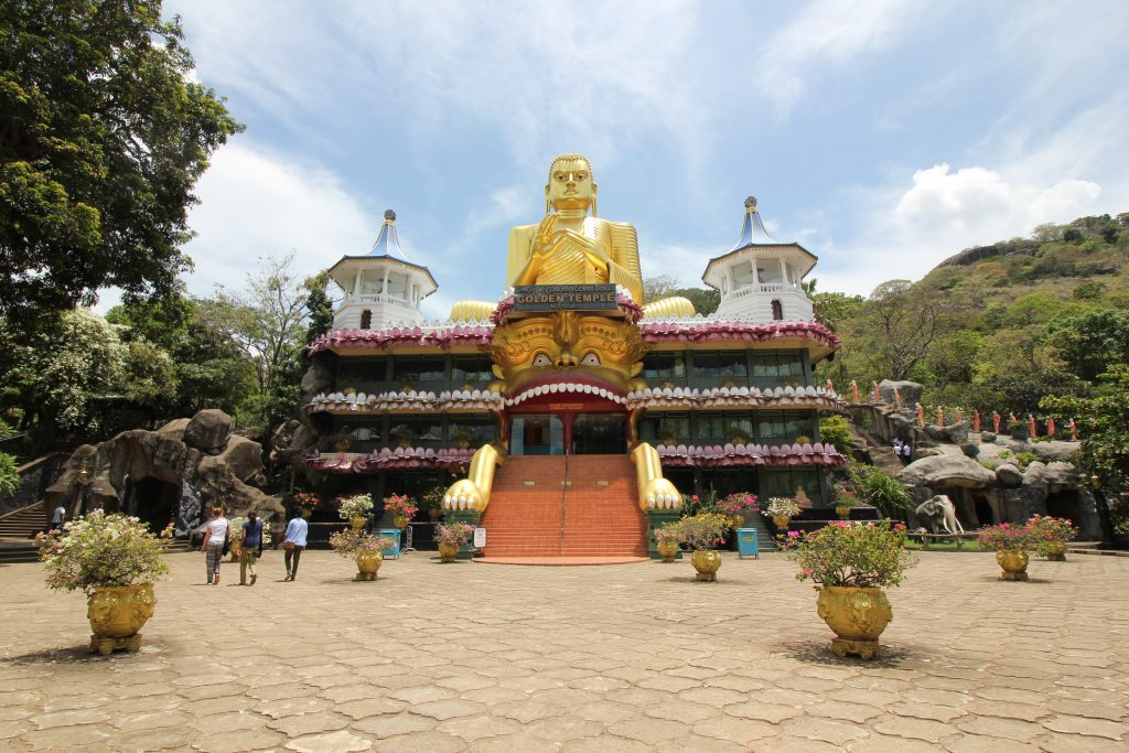 Viajar a Sri Lanka en octubre - Golden Temple de Dambulla