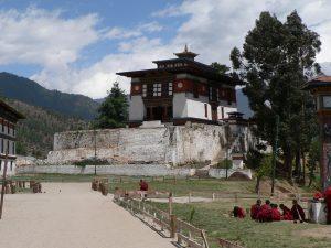 Monumentos en Timbu - Dechen Phodrang