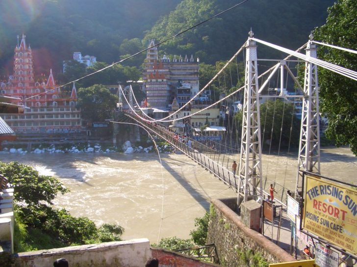 Rishikesh - Puente colgante
