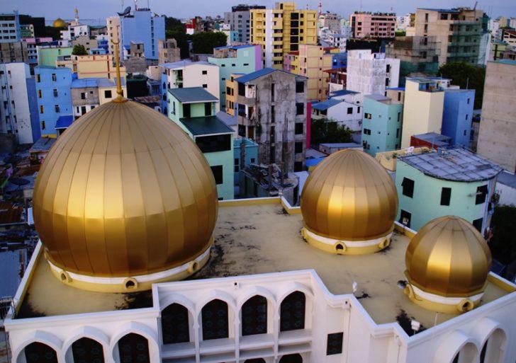 Ruta por Male, la capital de Maldivas