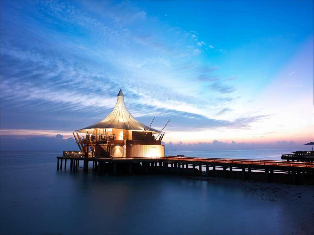La comida en maldivas el lujo del producto fresco for Hoteles super lujo maldivas