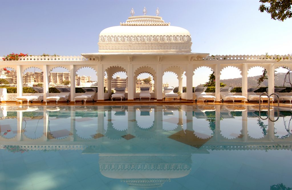 palaces to sleep in India