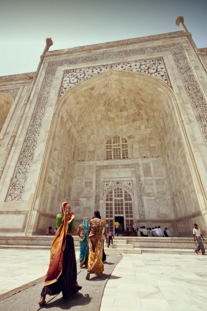 Cambios de horario en el Taj Mahal