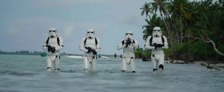 Maldivas en Star Wars: lugar de rodaje de Rogue One