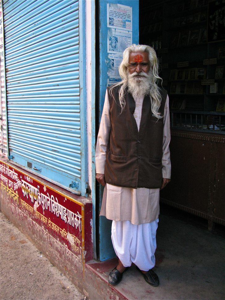 Cómo visten los hombres en la India