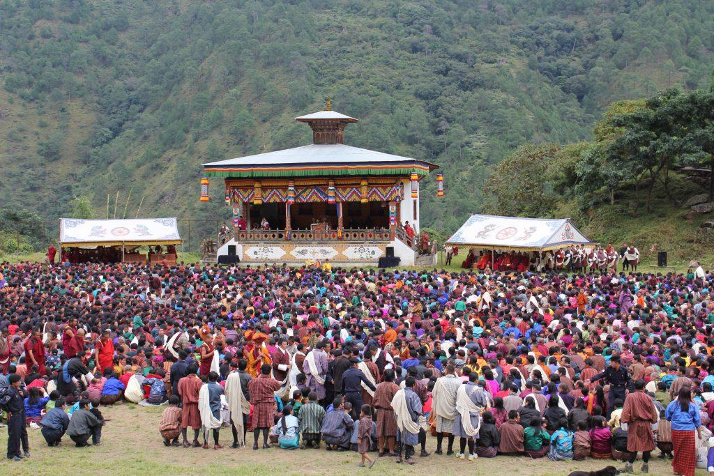 Calendario de festivales de Bután - Dzongsar