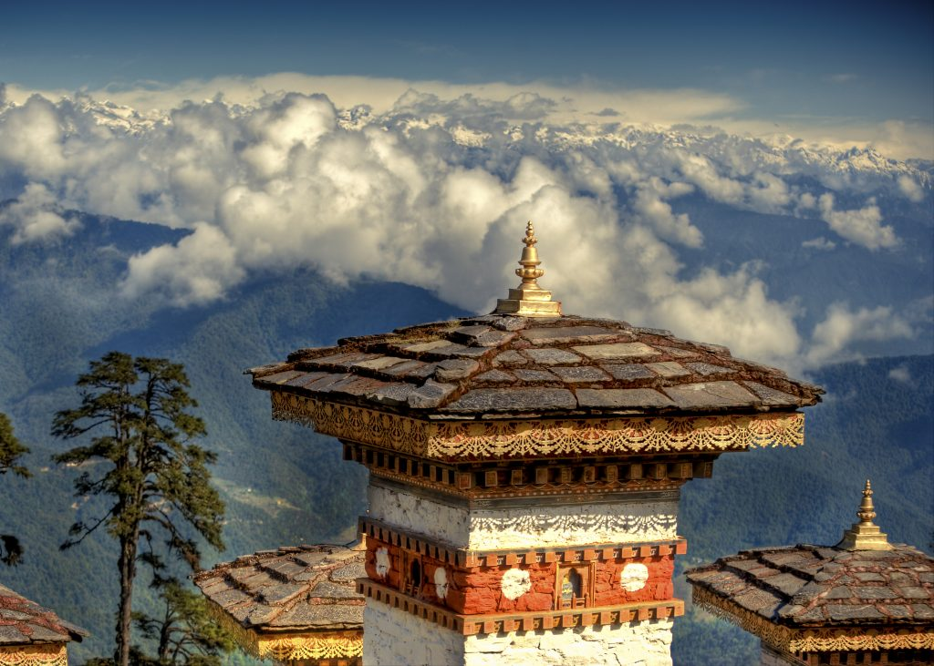 origin of the name of Bhutan - places for a honeymoon