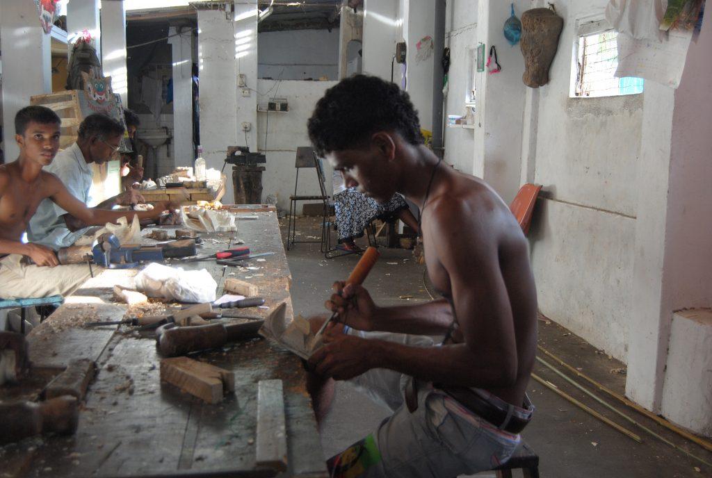 De compras por Sri Lanka