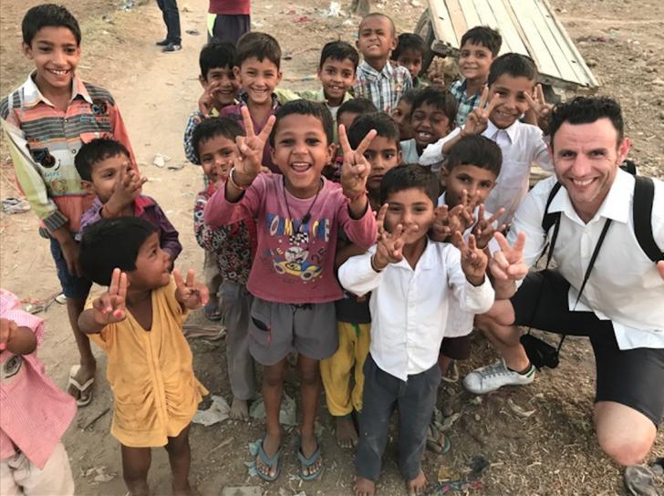 Viajar a la India, consejos. Aldea de Agra