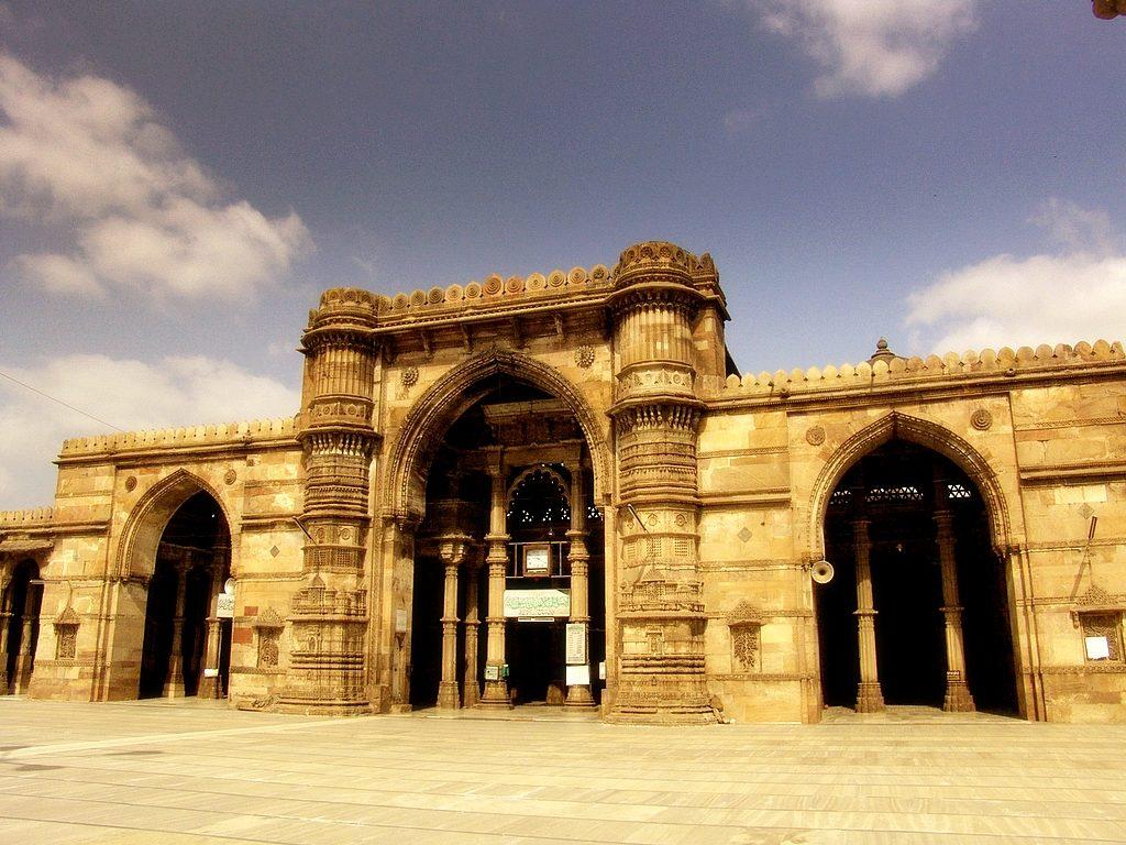 Jama Masjid, la mezquita de Ahmedabad en India