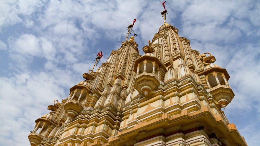 Uno de los templos de la ciudad de Ahmedabad patrimonio de la Unesco