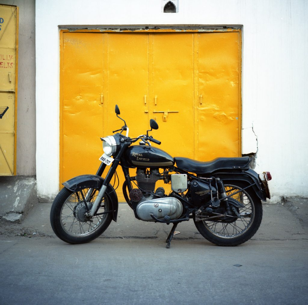 India by motorcycle