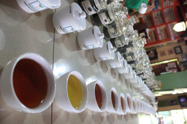 Fábrica de té en Sri Lanka