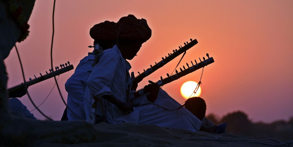 Activities in the desert of Rajasthan