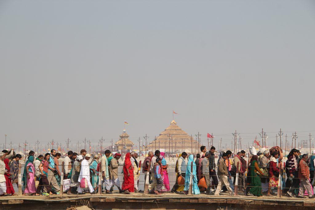 Kumbh Mela: peregrinaje en India