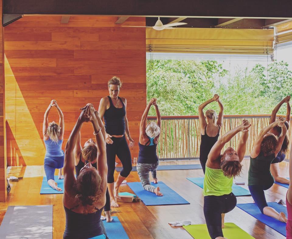 Clase de Quantum Yoga en Tri Lanka en Sri Lanka
