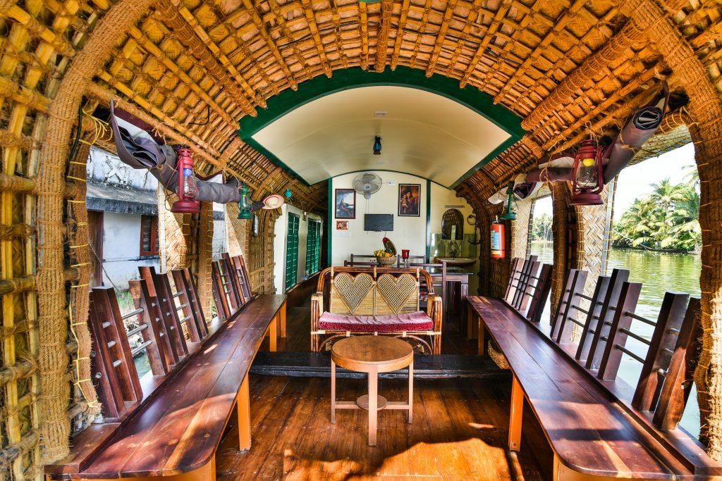 houseboat en Kerala