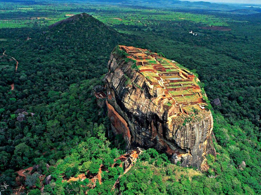 Sigiriya es uno de los principales monumentos que ver en Sri Lanka