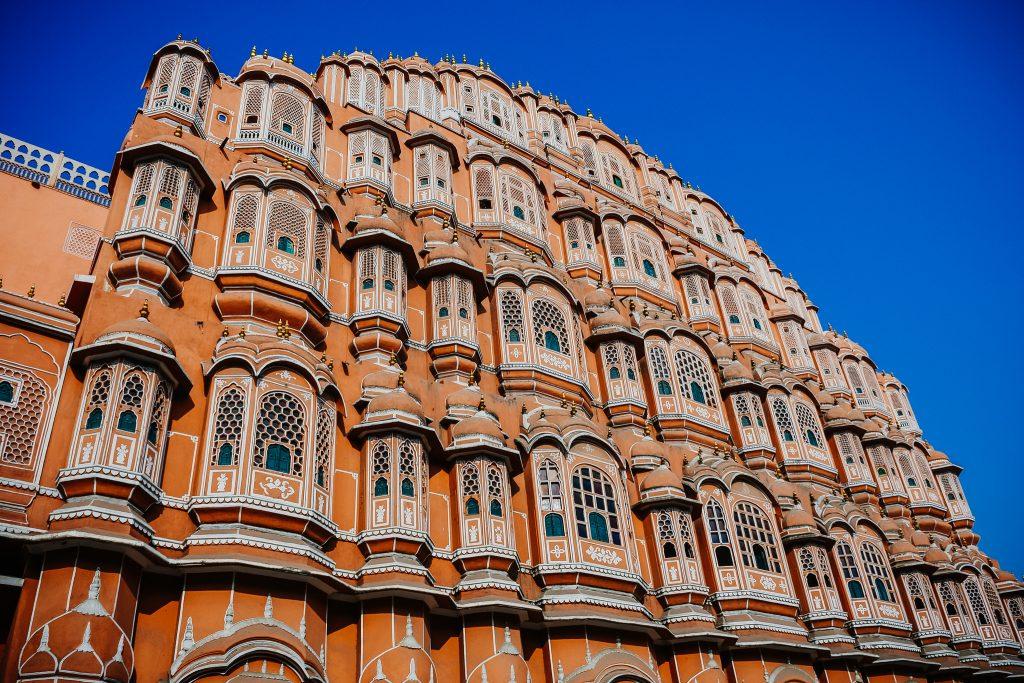 Palacio de los Vientos de Jaipur en India