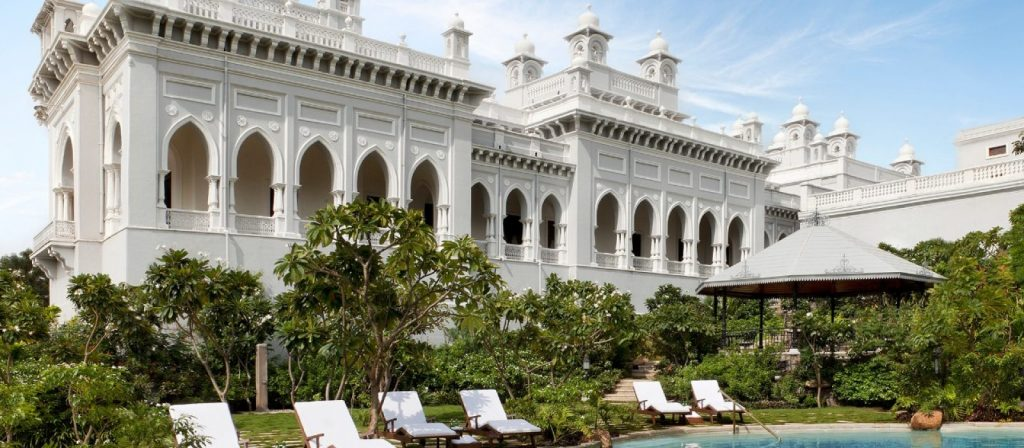 Taj Falaknuma, one of the best hotels with views of India