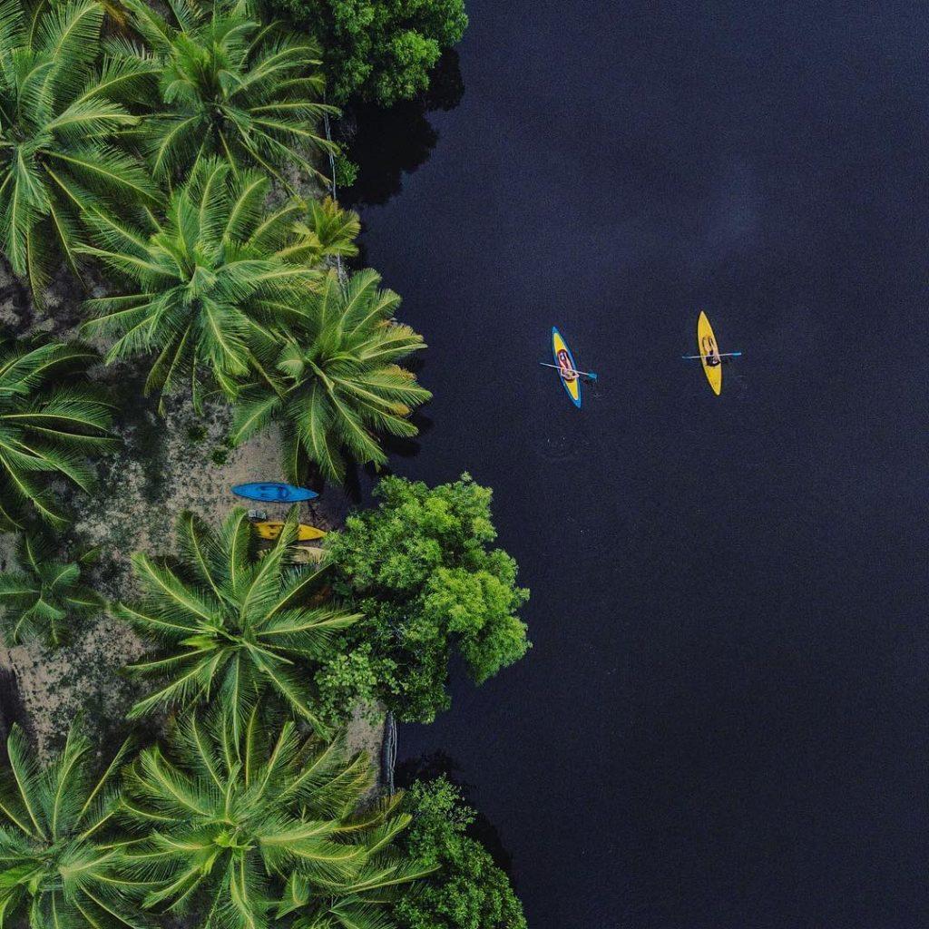 Kewara Lagoon en Tangalle Sri Lanka