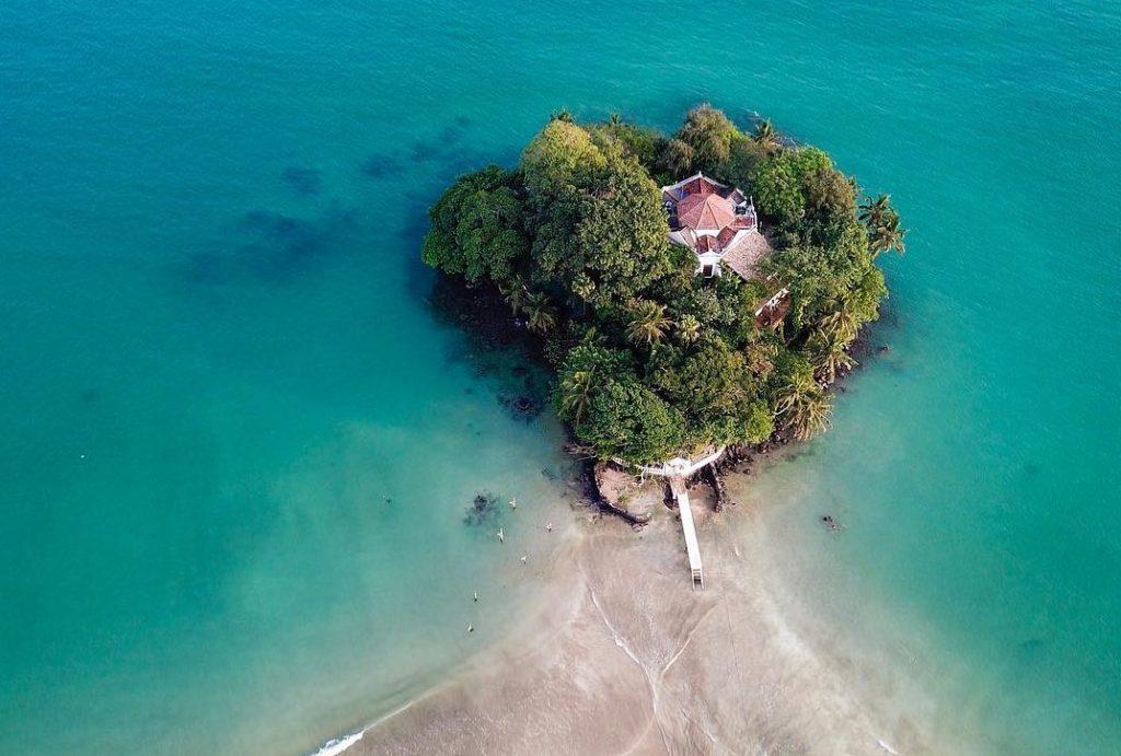 Taprobane en Sri Lanka dron