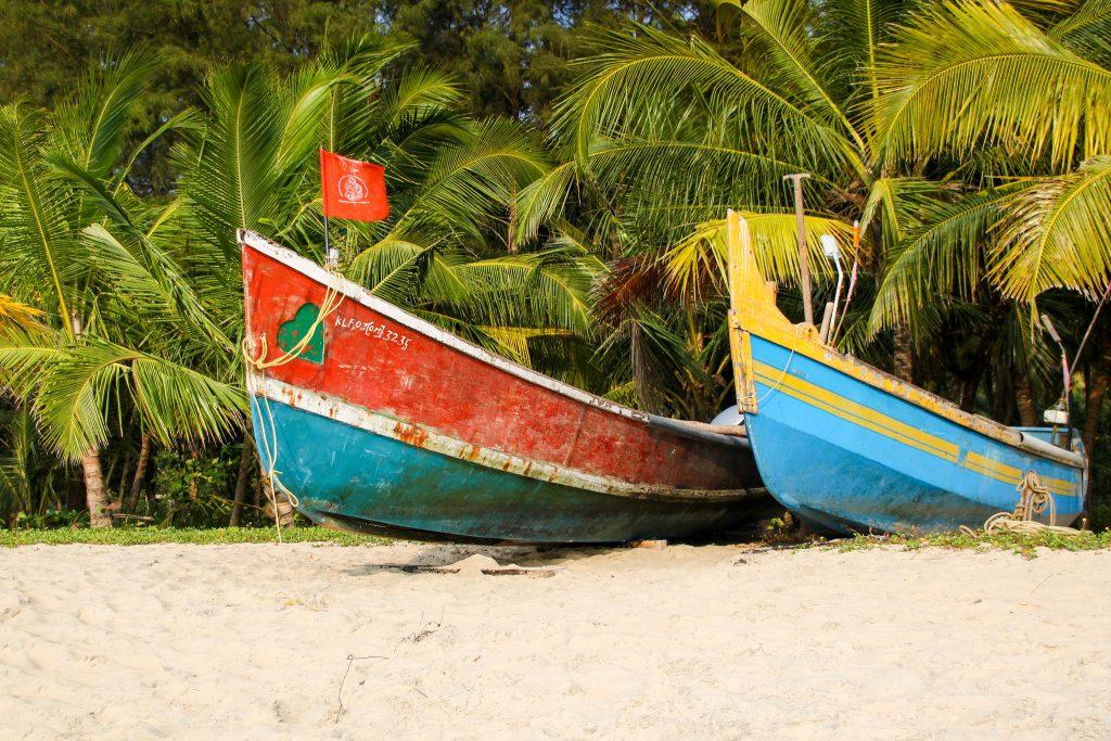 Mejores playas de Kerala : la tranquilidad de Marari.