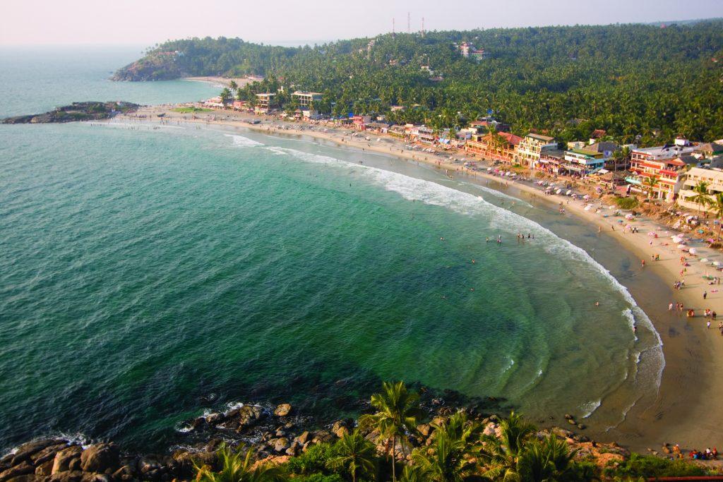 Kovalam, una de las mejores playas de Kerala