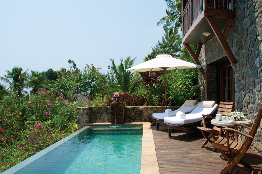 The best luxury hotel in Kovalam: Taj Green Cove in Kerala