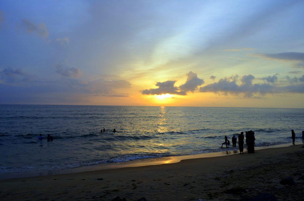 Cherai es una de las mejores playas de Kerala.