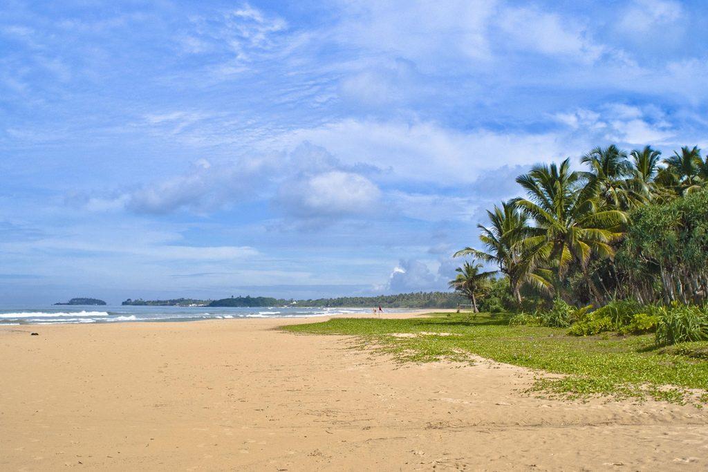 Bentota Beach en Sri Lanka