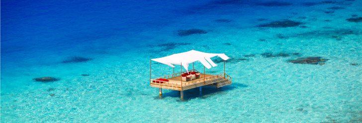 Piano Deck en Baros Maldivas