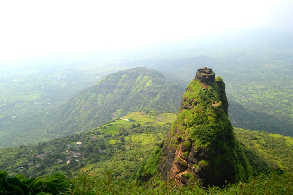 The Fort of Pravalgad and its 700 meters high