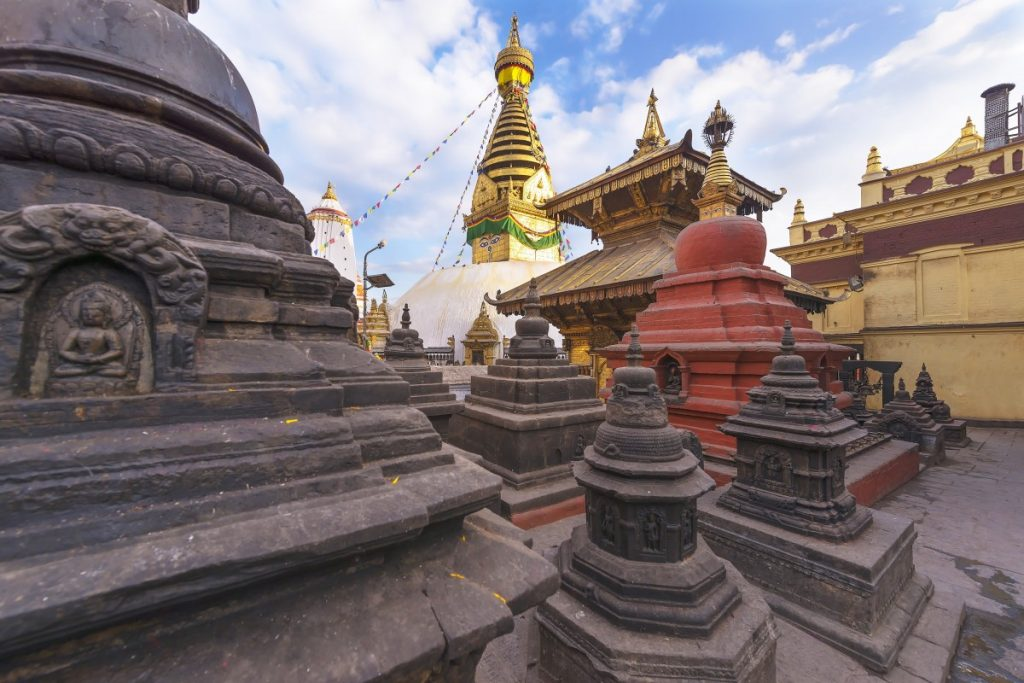 La estupa de Boudanath en Katmandu