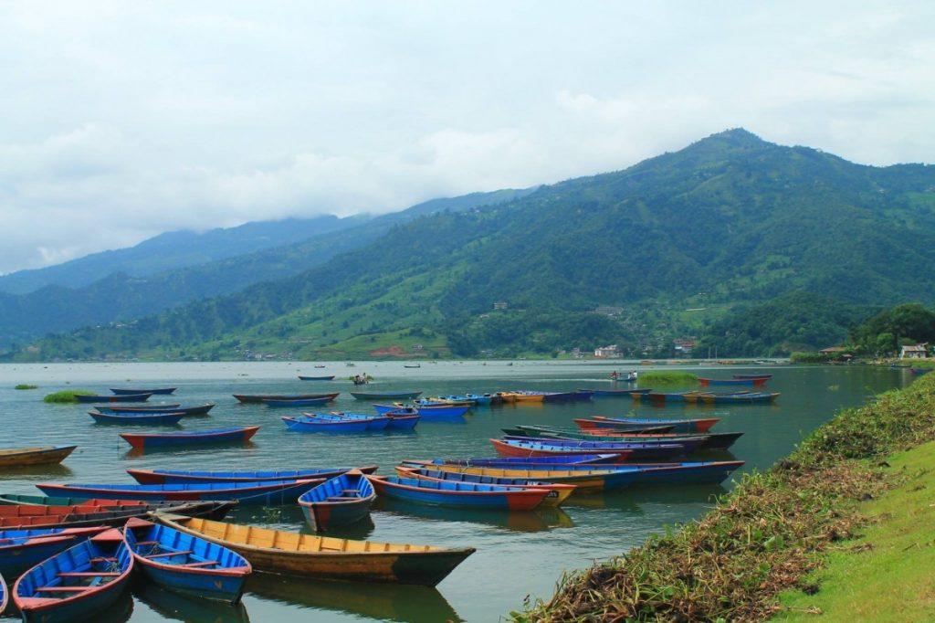 El lago Phewa, un icono de Pokhara