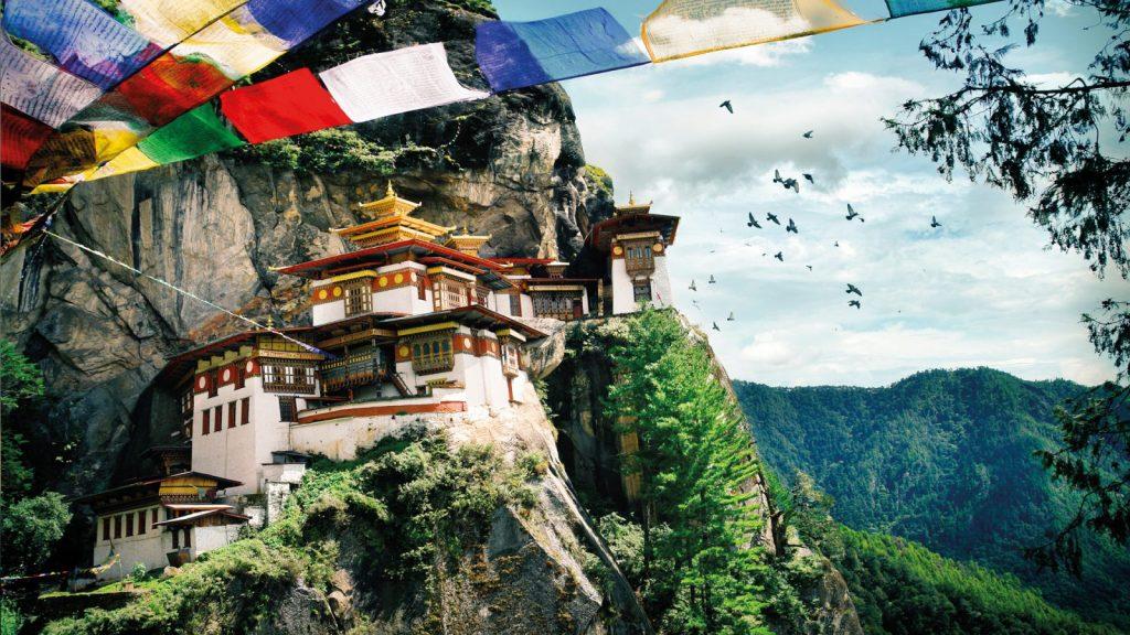 El Nido del Tigre es el monasterio más famoso de Bután.