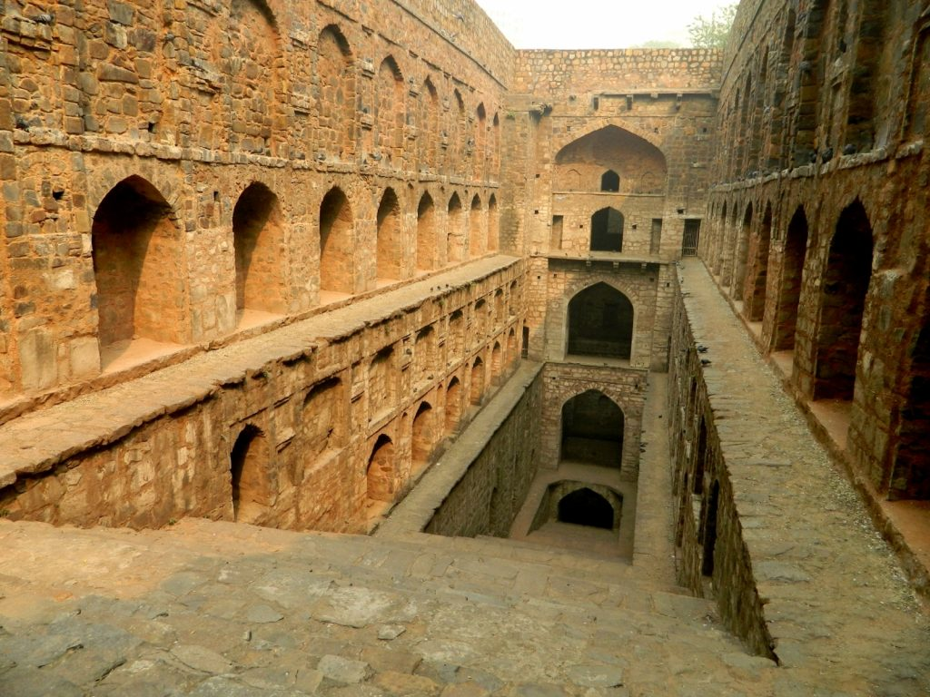 Agrasen Ki Baoli, one of the few urban baoris in India