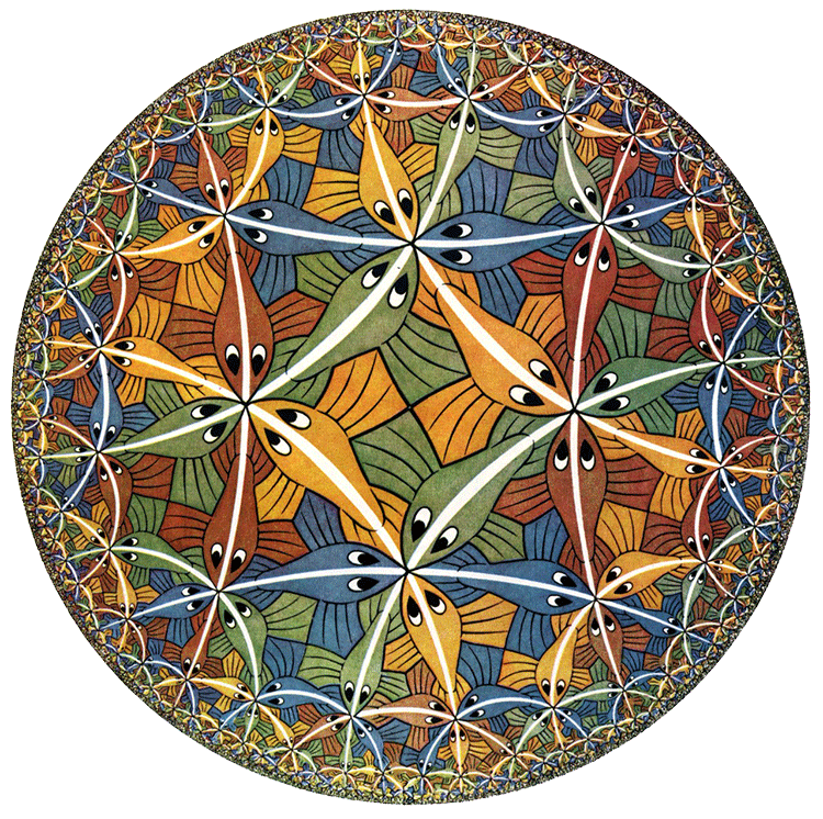 La India y el Mediterráneo inspiraron a M.C. Escher