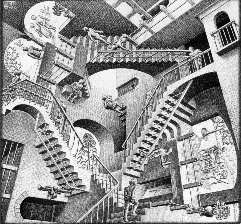 Las escaleras de Chand Baori en India inspiraron a Escher