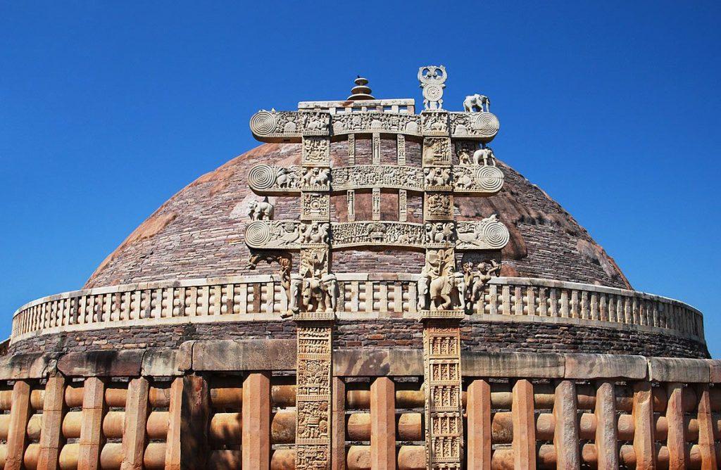 Etupa de Sanchi, el orgullo de Madhya Pradesh